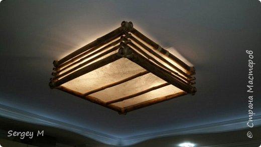 Потолочный светильник фото 3