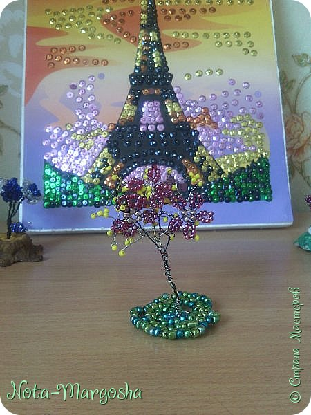 Вот мое цветочно - бисерное трио! фото 2