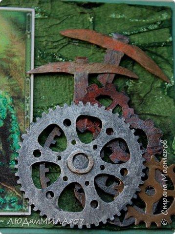 Здравствуйте всем!!!В продолжении темы Бажовских сказов ещё 2 открытки,надеюсь они вас тоже не разочаруют. фото 11