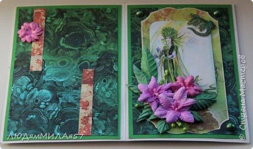 Здравствуйте всем!!!В продолжении темы Бажовских сказов ещё 2 открытки,надеюсь они вас тоже не разочаруют. фото 3