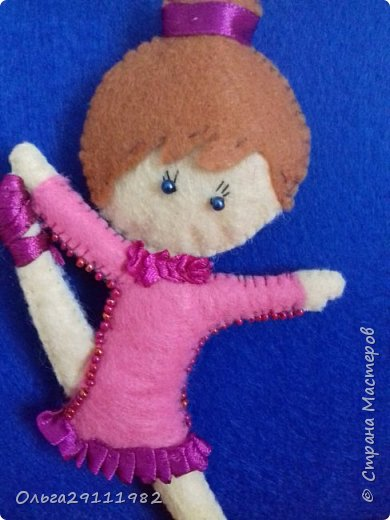 Куколки из фетра(продолжение) фото 7
