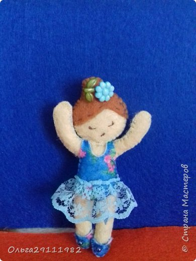Куколки из фетра(продолжение) фото 5