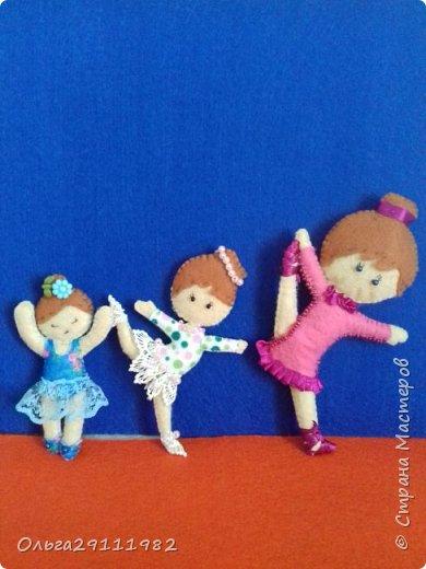 Куколки из фетра(продолжение) фото 1