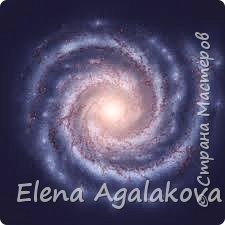 Вот такая спиральная мандала у меня сплелась, она напоминает мне нашу галактику - Млечный путь фото 2