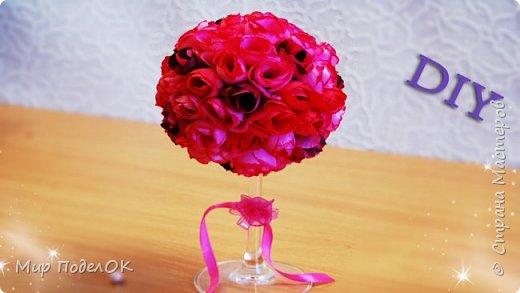 Интерьер вашего дома заиграет по-новому, если его украсит вот такой красивый букет из роз. А еще это и оригинальный подарок практически на любой праздник.