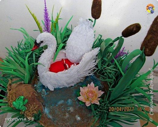 Лебедь коробочка для колец фото 1