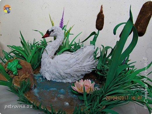 Лебедь коробочка для колец фото 2