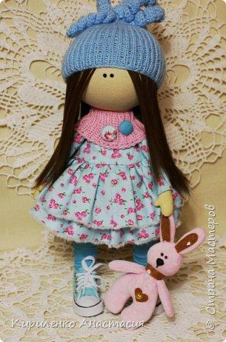 Добрый вечер! Мои новые работы. Куколка по мотивам кукол Татьяны Коннэ. фото 2