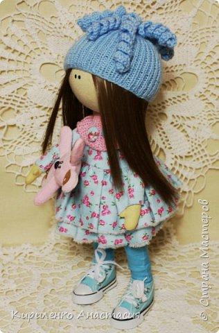 Добрый вечер! Мои новые работы. Куколка по мотивам кукол Татьяны Коннэ. фото 3