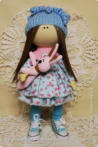 Добрый вечер! Мои новые работы. Куколка по мотивам кукол Татьяны Коннэ. фото 1