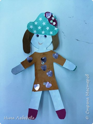 "Арт-проект ""Дети планеты"" Наши куколки фото 7"