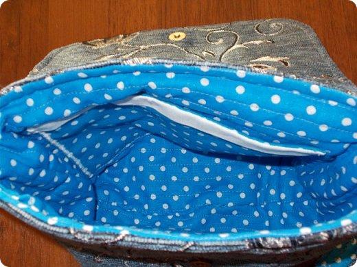 Вот такую сумочку на длинной ручке (регулируемой) сшила для юной леди. Ткань мебельная. фото 2