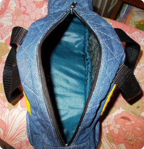 Вот такую сумочку на длинной ручке (регулируемой) сшила для юной леди. Ткань мебельная. фото 26