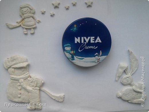 "Панно""NIVEA""(соленое тесто) фото 5"