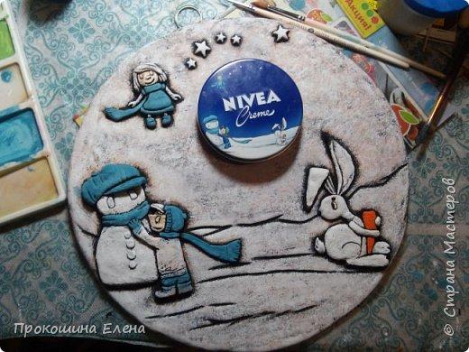 "Панно""NIVEA""(соленое тесто) фото 4"