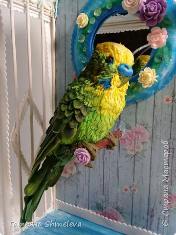 Птицы в технике фом-арт фото 21