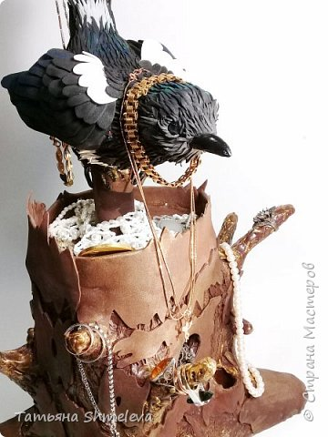 Птицы в технике фом-арт фото 28
