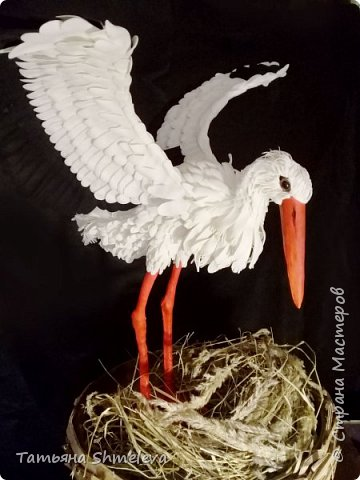 Птицы в технике фом-арт фото 1