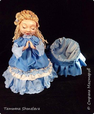 Куклы-шкатулки в технике фом-арт фото 5