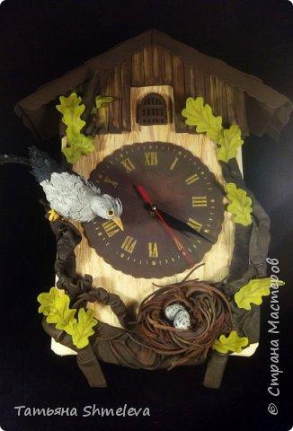 Часы в технике фом-арт фото 1