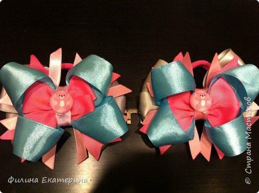 Мои пробы сделать резиночки для дочки и для племянницы. фото 3