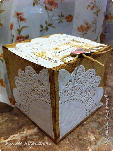 Вот такие коробочки я сделала в качестве упаковки для моих бантиков. фото 3