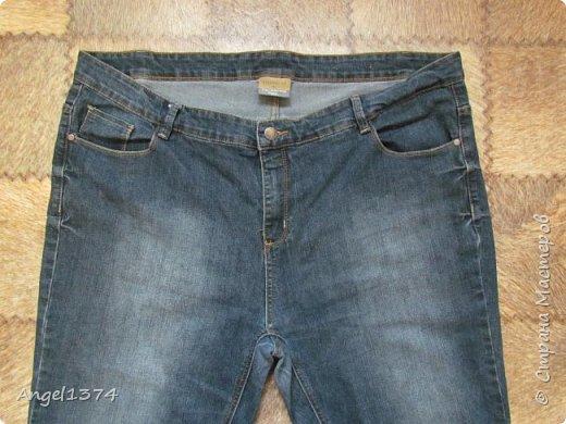 Мастер класс - реставрация джинсов фото 1