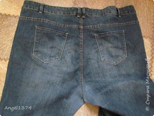 Мастер класс - реставрация джинсов фото 5