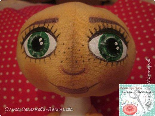 Всем привет! Хочу представить на ваш суд, мой вариант текстильной куклы. Это домовенок. фото 5