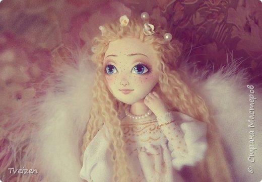 Эта куколка создавалась на заказ как подарок на День рождения радио-коллеге Ксюше Любимовой).  По словам заказчицы, получилось именно то, что она хотела, это меня конечно очень радует и вдохновляет)  фото 1