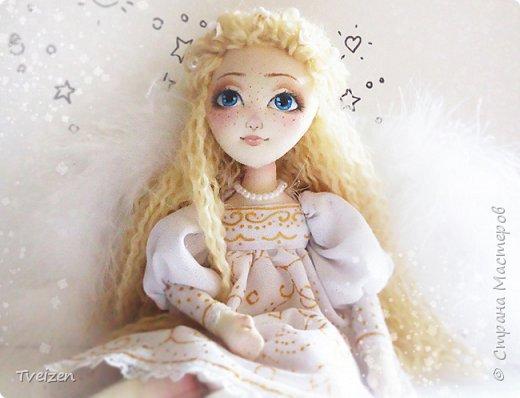 Эта куколка создавалась на заказ как подарок на День рождения радио-коллеге Ксюше Любимовой).  По словам заказчицы, получилось именно то, что она хотела, это меня конечно очень радует и вдохновляет)  фото 4