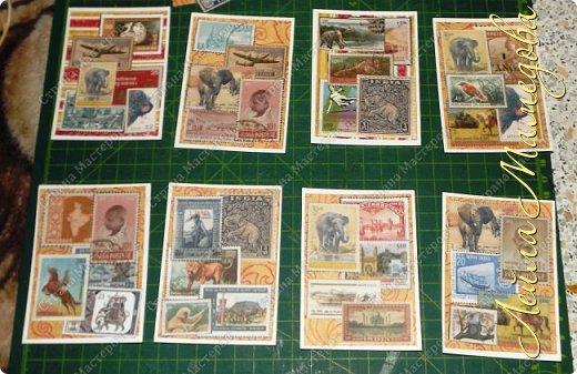 """Девочки, добрый день ! Отгадайте загадку : что путешествует по всему миру и находится всегда в одном углу? Думайте-думайте! Догадались? Правильно, это почтовая марка!!! А вы представляете сколько марок было посвящено Индии. Немало их и выпускается в самой стане. представляю вам серию """"Индия"""". ОЭ - слон. фото 1"""