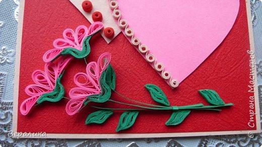 Для трех молодых сестричек сделала на Валентинов день вот такие три открыточки. Подарила и забыла про них. А сегодня случайно нашла их фото. фото 7
