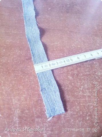 Панно джинсовое МК фото 9