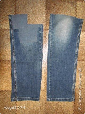 Как сшить рюкзак из джинсов фото 1