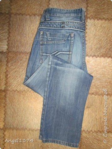 Как сшить рюкзак из джинсов фото 8
