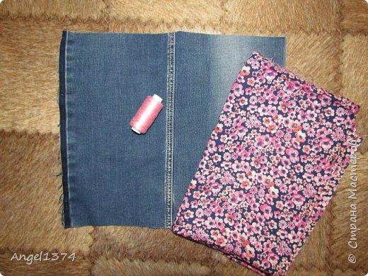 Как сшить рюкзак из джинсов фото 2