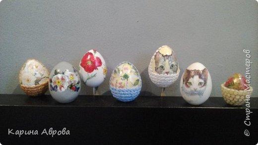 Пасхальные яйца. Смешанная техника. фото 1
