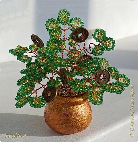 Денежное дерево выросло из горшочка с золотом. фото 1