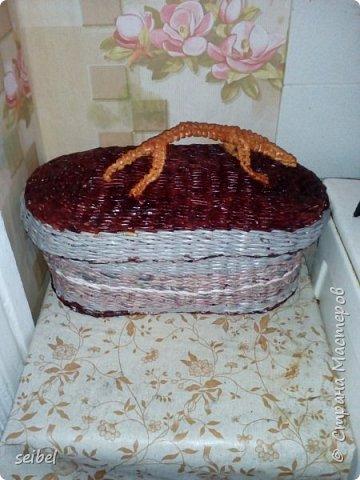 Корзинка для грибов и ягод фото 2