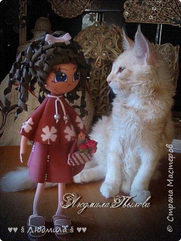 Всем  спасибо, что зашли ко мне в гости! Бабушка Люда, впала  в детство и делает кукол! Ну вот так вот! Самирка и Оська модели.  фото 2