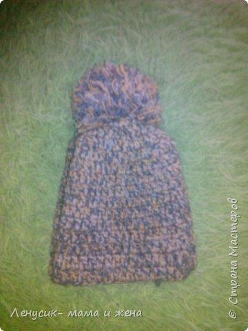 Комплект шапка и шарфик фото 4