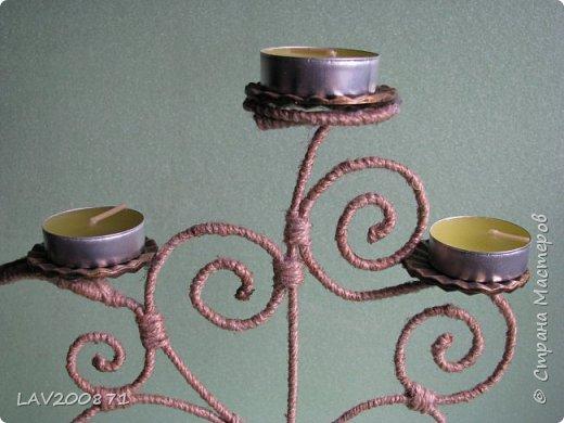 проволока, джут. кофе, клей. большие пуговицы для подставки под свечечки и разный декор.... фото 5