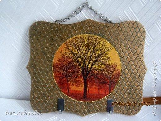 Декупаж, дерево, салфетки. фото 34
