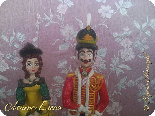 Здравствуйте , дорогие и очень талантливые жители и гости Страны Мастеров!!!  Поздравляю всех  С Первомаем!!! Хочу показать вам ещё две статуэтки .  фото 17