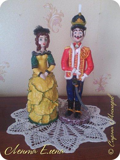 Здравствуйте , дорогие и очень талантливые жители и гости Страны Мастеров!!!  Поздравляю всех  С Первомаем!!! Хочу показать вам ещё две статуэтки .  фото 1