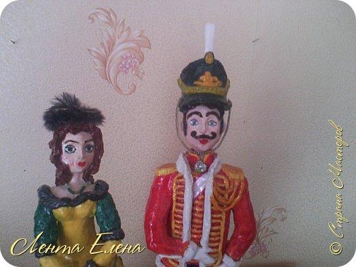 Здравствуйте , дорогие и очень талантливые жители и гости Страны Мастеров!!!  Поздравляю всех  С Первомаем!!! Хочу показать вам ещё две статуэтки .  фото 2