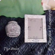 Рамочка для внука, именная, имитация камня, из тонких глянцевых листов фото 4