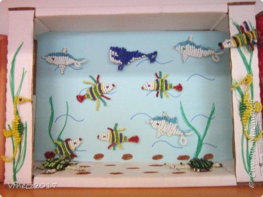 Рыбки в пруду.