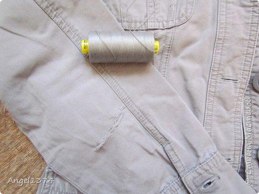 Ремонт джинсовых изделий фото 3